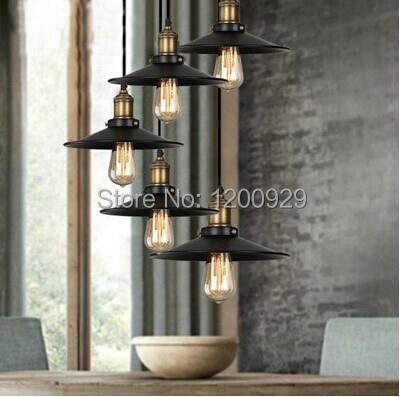 Diameter 260MM Pendant Light,Vintage Loft,Edison Pendant Hanging Suspensory Lamps Dining Room,Living Room,Bed Room  PLL-617