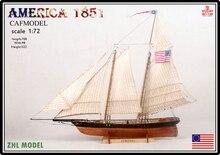 ZHL AMERICA 1851 modèle bateau bois