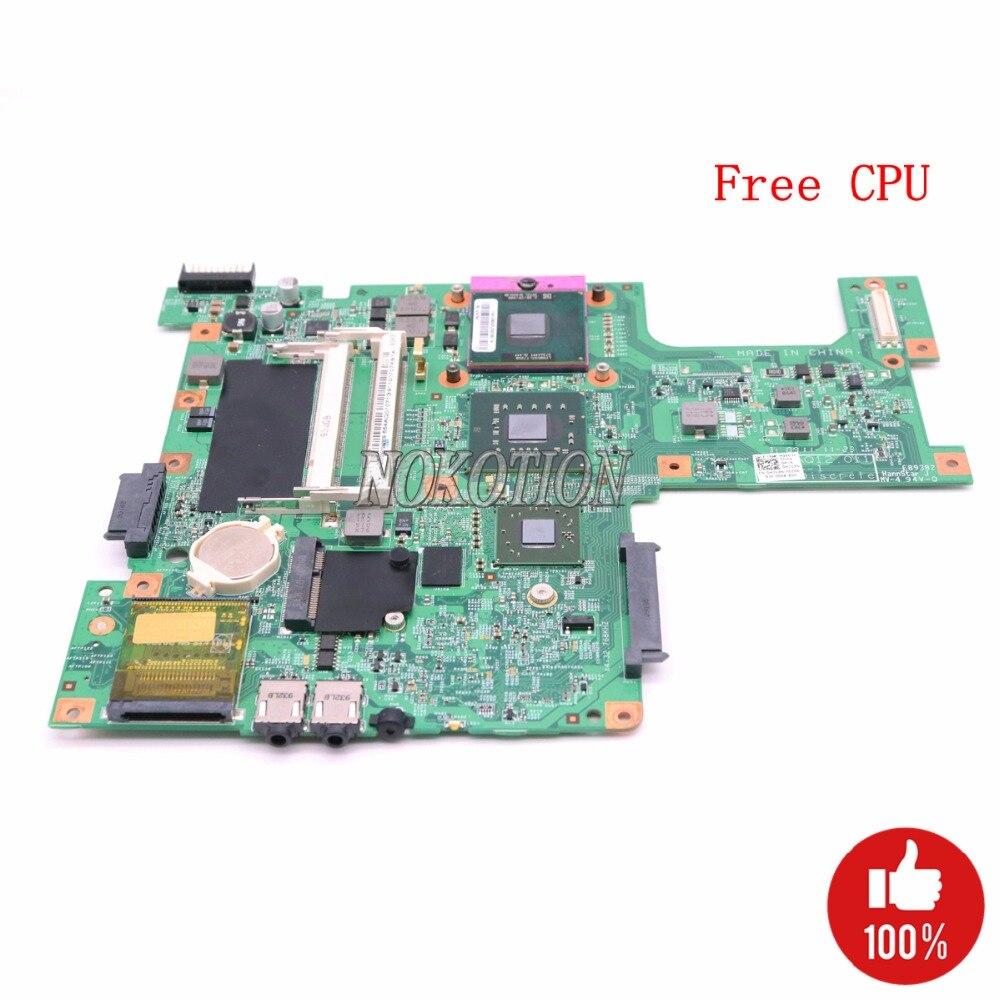 NOKOTION portátil placa base para Dell inspiron 1545 PM45 HD4570M DDR2 H314N 0H314N CN-0H314N 48.4AQ12! 011 gratis CPU