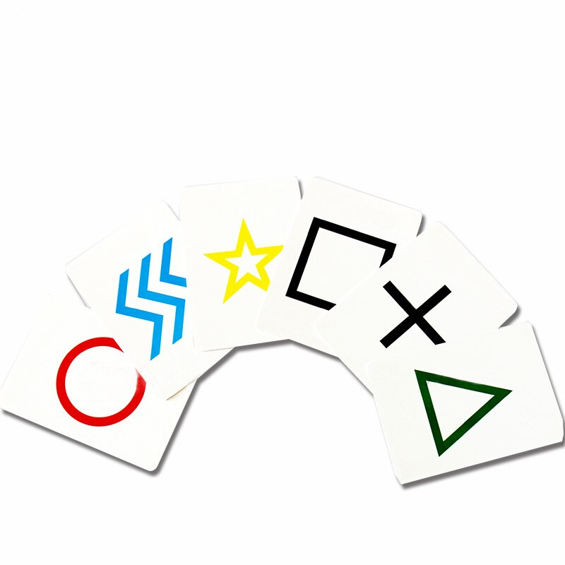 Free shipping 10pcs Fancy ESP cards classic cards group magic tricks magic props magic cards