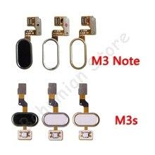 Retour accueil bouton empreinte digitale câble flexible pour Meizu M3 Note M3s pièces de réparation de téléphone portable