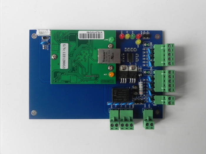 Placa de Control de acceso RFID lector de tarjetas TCP/IP software Libre en inglés Control de acceso bidireccional de una puerta Control de acceso de puerta