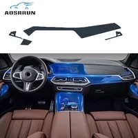 for bmw x5 2019 instrument panel film transparent protective film full foil car accessories
