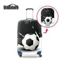 Dispalang voyage sur route housse de protection élastique pour bagages Football imprime couvercle de valise Anti-poussière pour 18-30 pouces boîtier de chariot
