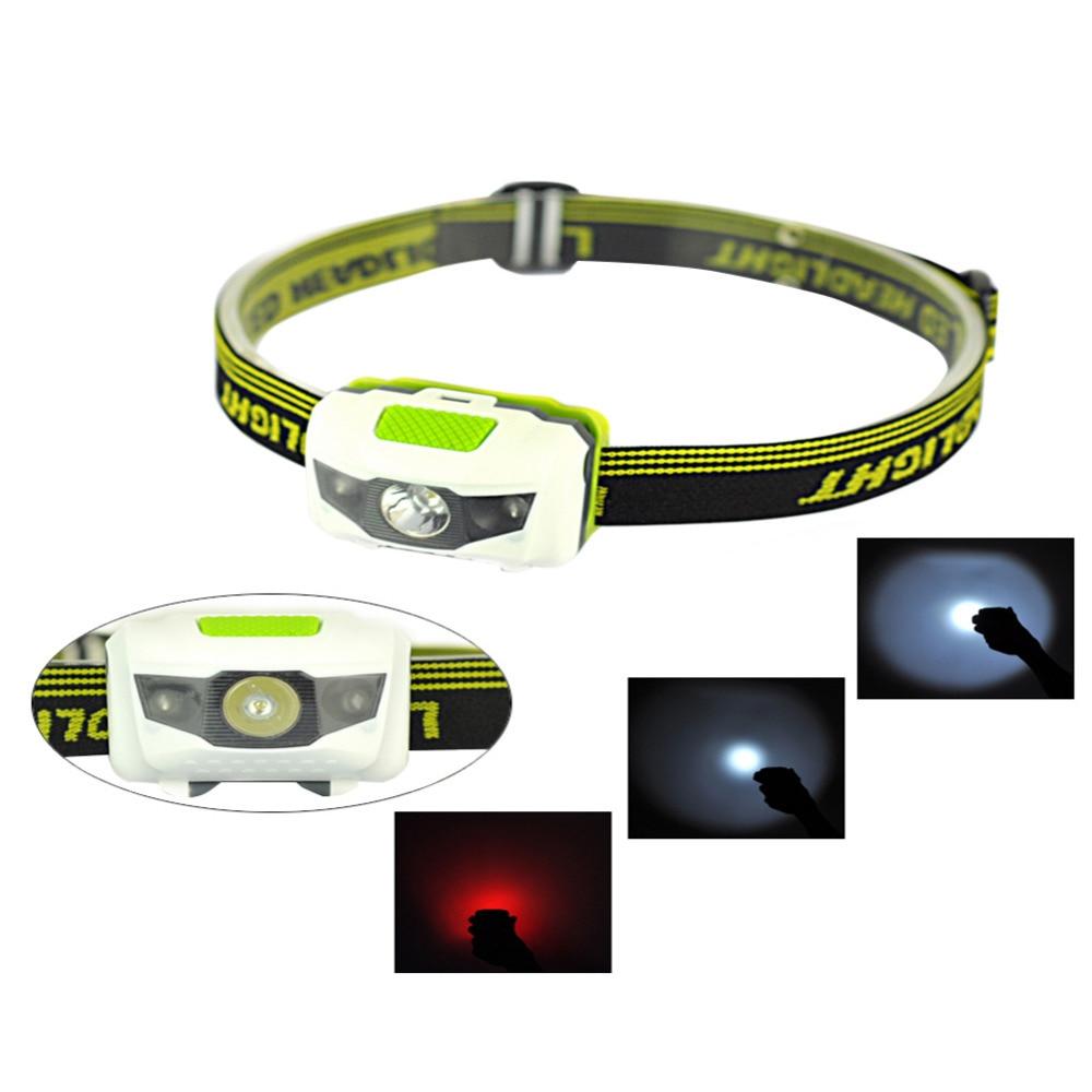 Mini 2 Modes Waterproof 160Lm CREE R3 LED Flashlight Outdoors Headlight Headlamp Lamp Torch Lanterna with Headband Party Favors