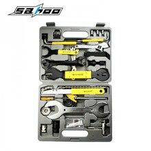 SAHOO Professionelle 44 inn 1 MTB Fahrrad Repair Tool Set Fall Box Speichenschlüssel Kit Für Mountain Road Fahrrad zubehör