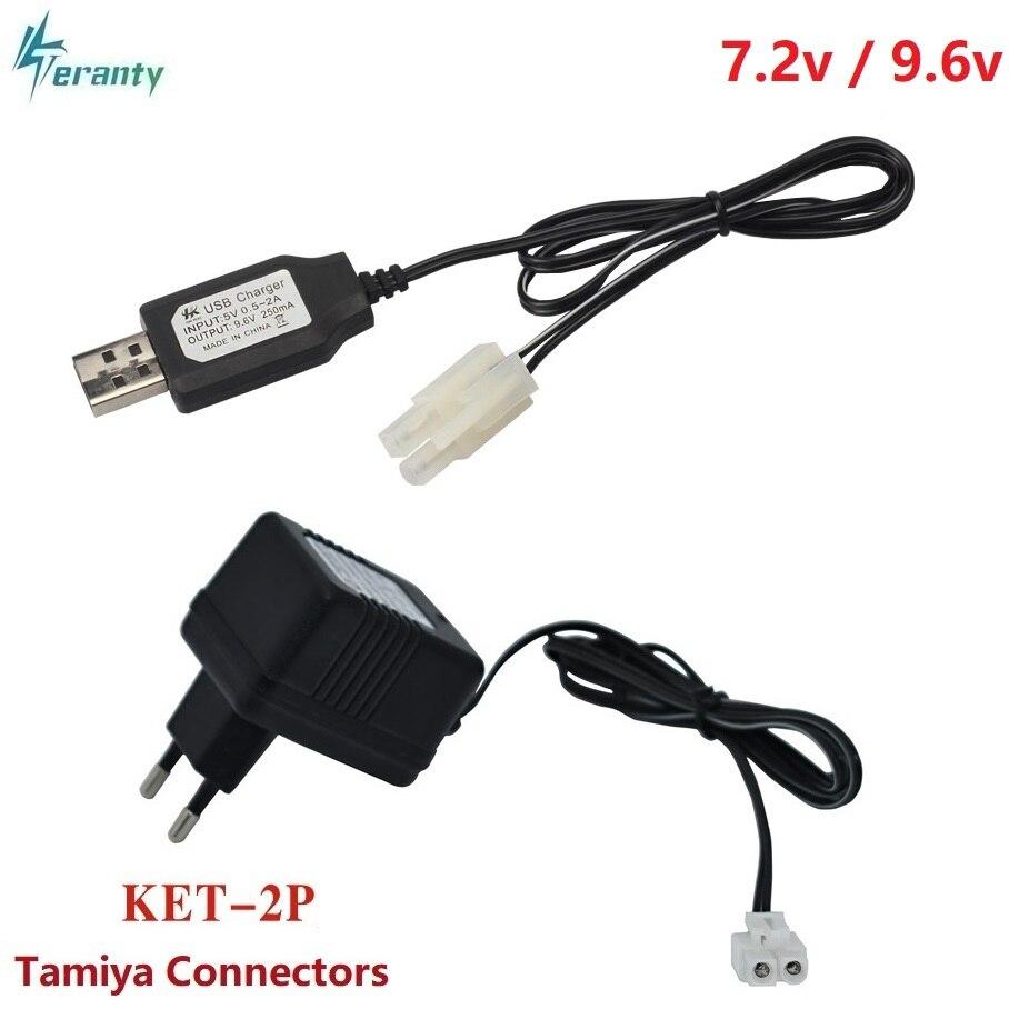 7,2 В 9,6 в зарядное устройство для NiCd NiMH вход батареи 100 в-240 в выход 7,2 В 250мА с штепсельной вилкой Tamiya Kep-2p штепсельной вилкой 9,6 в зарядное устройство для радиоуправляемых игрушек