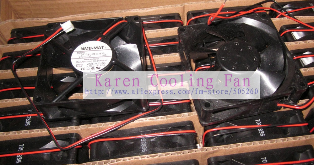 Nuevo Original para NMB 8025 24V 0.1A 3110KL-05W-B30 ventilador de refrigeración 3110KL-05W-B40 3110KL-05W-B20 HZDO