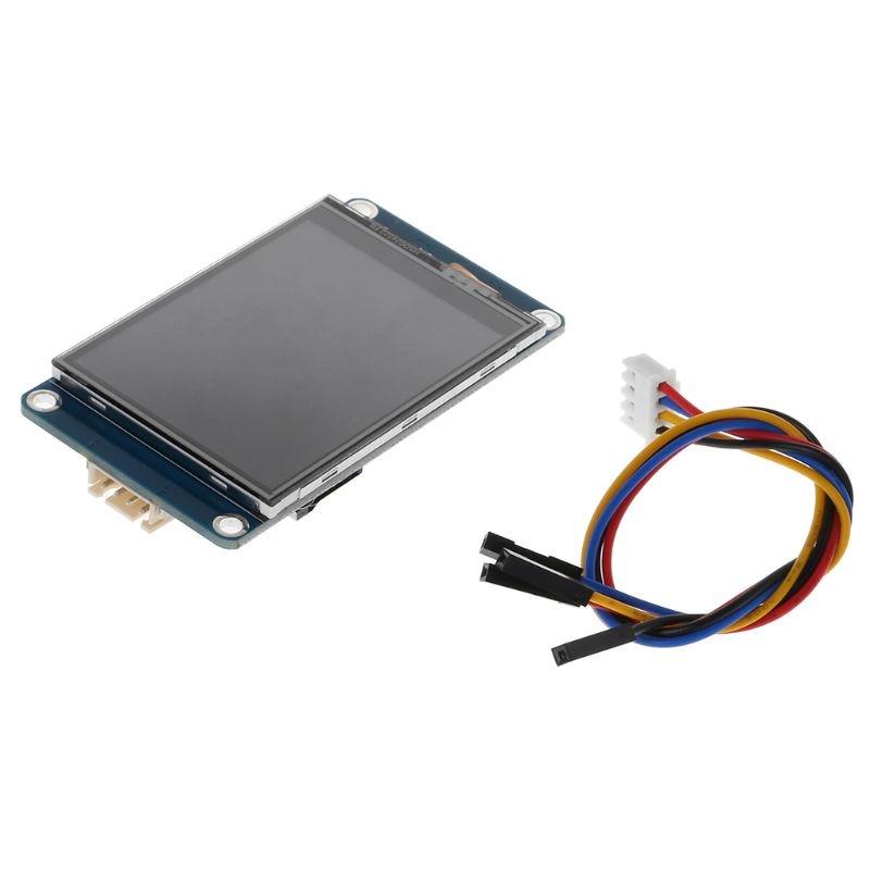 "Módulo de lámpara inteligente resistente a la pantalla táctil 2,4 ""UART HMI 320x240 pantalla LCD para Arduino TFT"