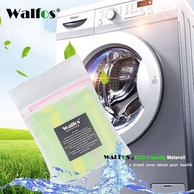 Walfos sacos de lavanderia sutiã cestas de roupa interior saco de malha lavanderia lavagem cuidados bolsa organizador caixa armazenamento kits limpeza doméstica