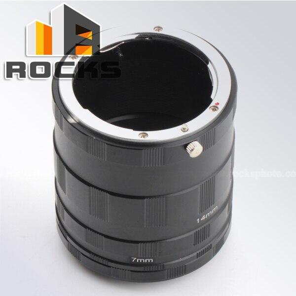 Макроудлинительная трубка Pixco для камеры Nikon F DSLR D850, D7500, D5600, D3400, D500, D5, D810A, D7200, D5500, регулируемая длина