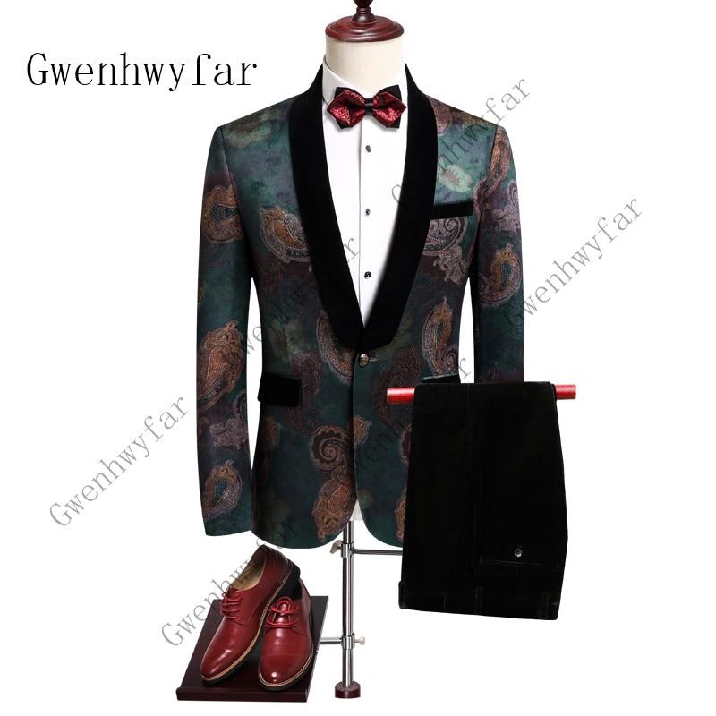 Trajes de boda para hombre 2019, chaqueta de esmoquin estampada, trajes de diseñador para baile de graduación, los últimos diseños de abrigo y pantalones, traje ajustado para hombre