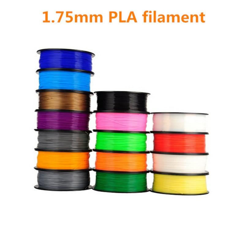 HE3D MakerBot/RepRap/UP/Mendel, filamento de impresora 3d de 1,75mm, Material de consumibles de goma plástica 1kg