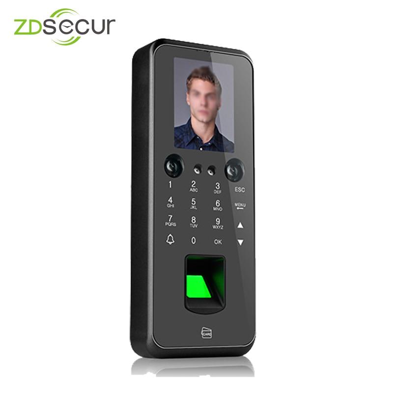 ZDF3 نظام احترافي للتحكم في الوصول والتعرف على الوجه وبصمة الأصابع