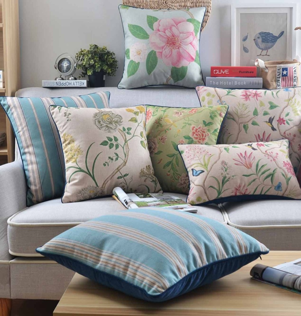 Free Shipping!!Cute flower square throw pillow/almofadas case 45x45 55x55 60x60,nordic design floral cushion cover home decore
