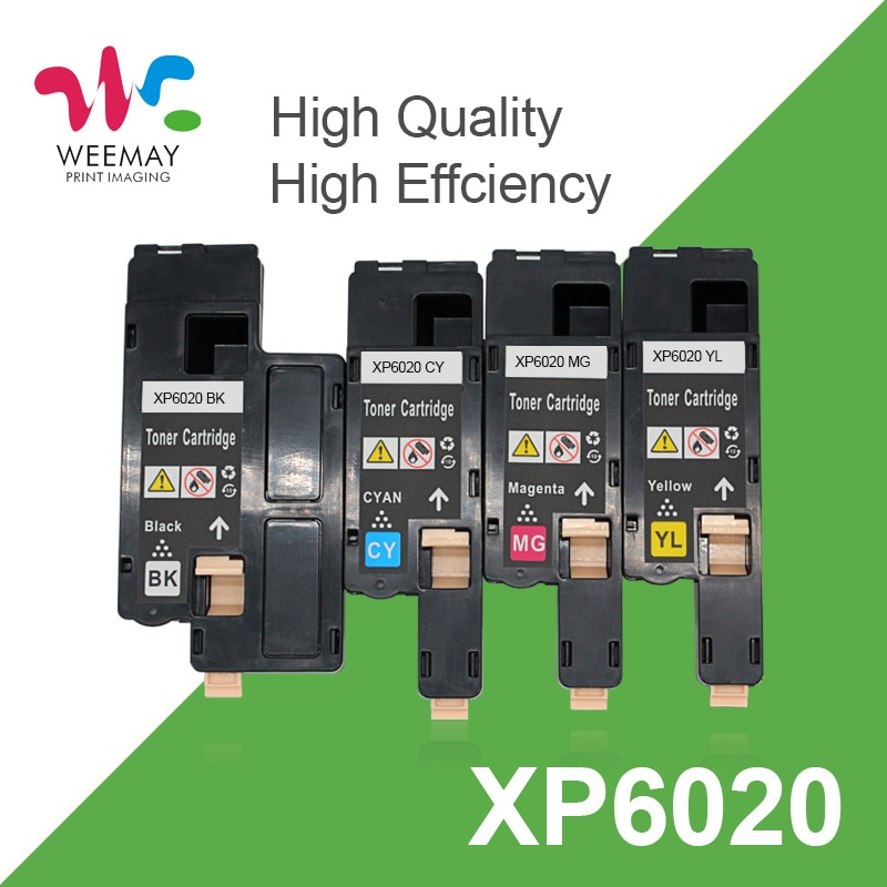 Тонер-картриджи совместимый с Fuji Xerox Phaser 6020 6022 Workcenter 6025 6027 для Xerox 106R02763 106R02760 106R02761 106R02762