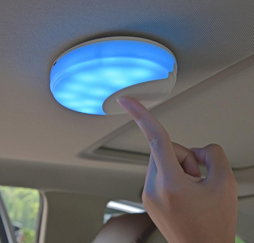 Coche USB carga Interior LED luz de lectura techo lámpara magnética para DODGE JCUV viaje Ram Accesorios