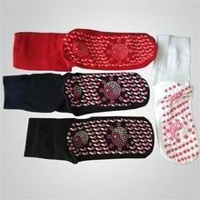 Rouge nouvelle puissance Ion Tourmaline rayons infrarouges lointains chaleur santé coton chaussettes équilibre corps