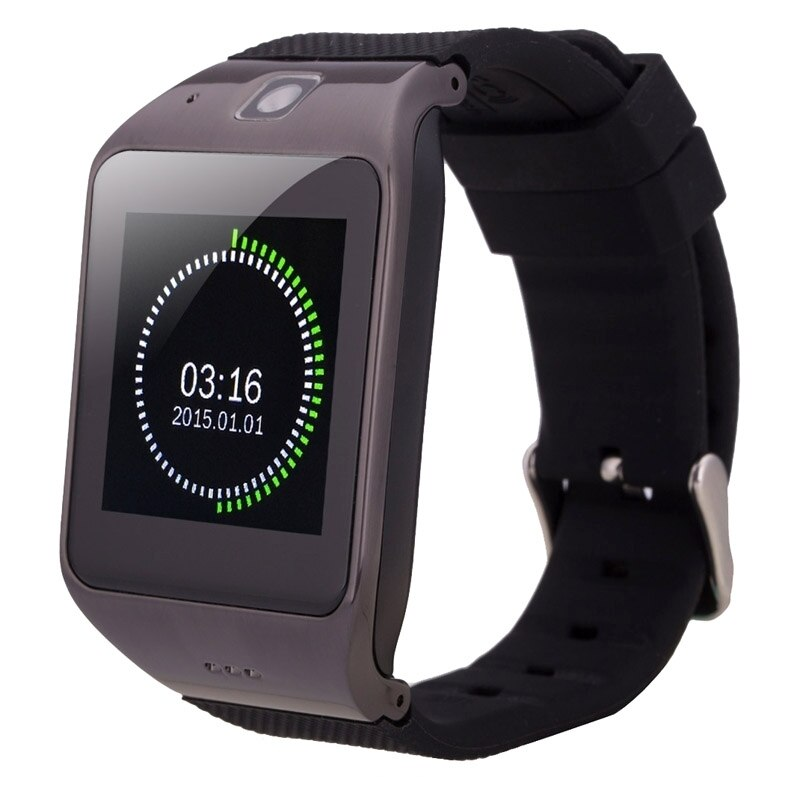 Uw1 smart watch 1.55 polegadas tela de toque capacitivo telefone do relógio, Função de fitness/Pedômetro/NFC/GSM. etc