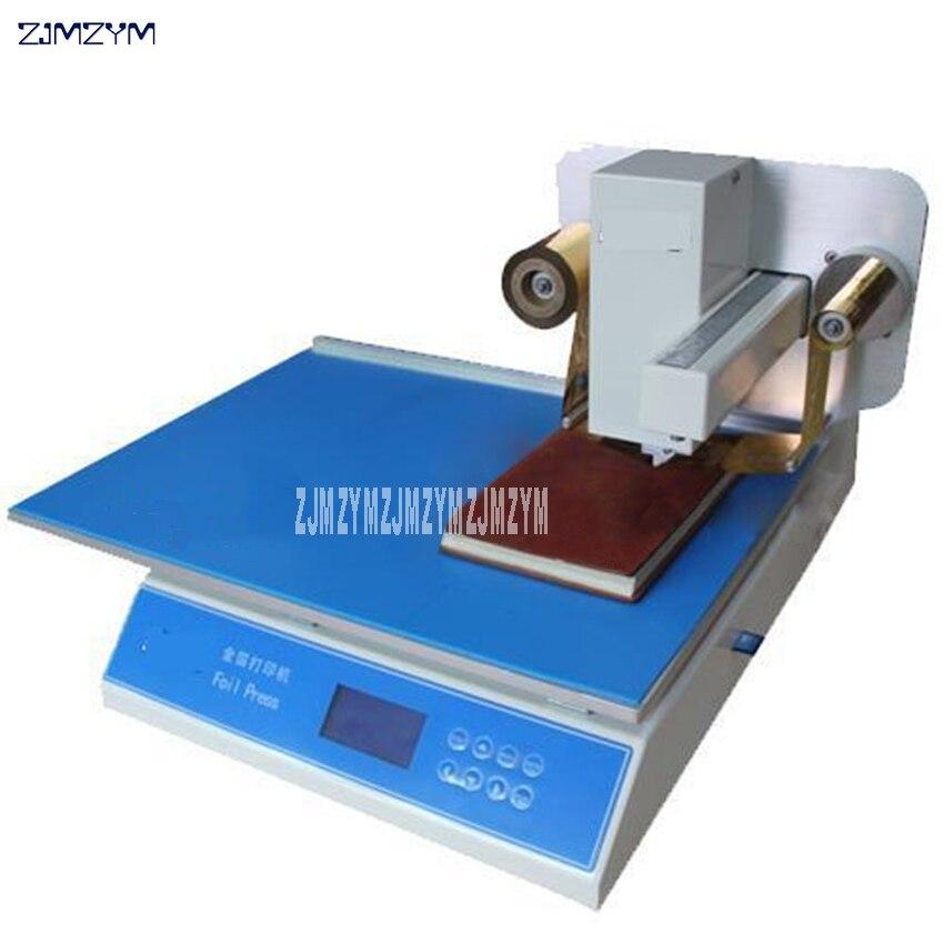 Impresora de inyección de tinta de cama plana Digital de WD-8025, máquina de estampado de lámina dorada, velocidad de impresión de impresora de 20-60 mm/s 220V/110V 50/60HZ