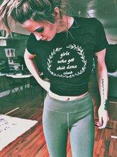 Sugarbaby filles qui obtiennent Sh * t Done Club t-shirt féministe patron bébé chemise fille patron t-shirt Tumblr chemises femmes vêtements cadeaux