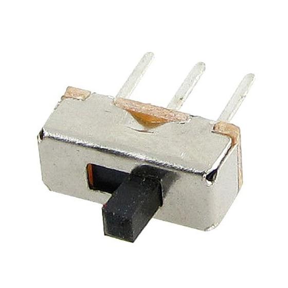 MYLB-50 шт. SS12D00G3 2 положения SPDT 1P2T 3 Pin PCB панель Мини Вертикальный скользящий переключатель