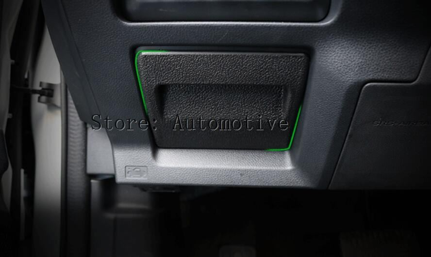 Caja de monedas de estilo OE para Subaru XV Forester 2013-2017 Impreza 2014 Outback Legacy WRX STi apoyabrazos caja de almacenamiento bandeja de soporte