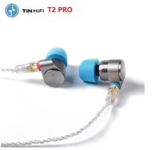 2020 TINHIFI TIN T2 Pro 3,5mm auricular con cable doble unidad dinámica HIFI auricular bajo DJ Metal Heaphone MMCX auricular