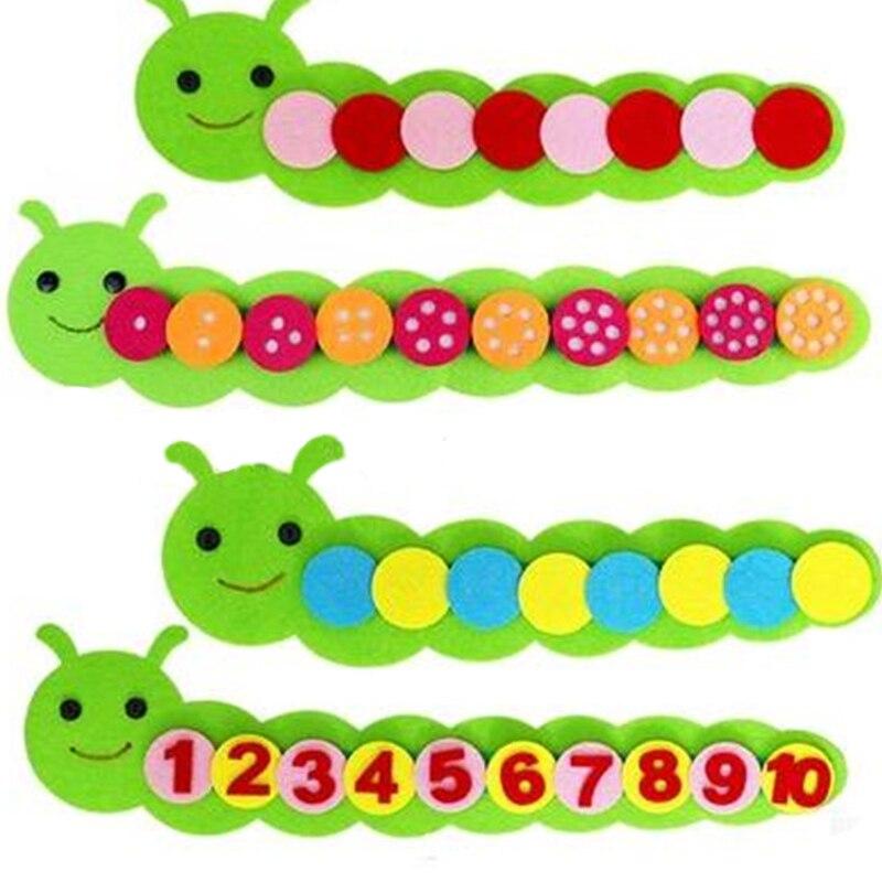 Монтессори Математические Игрушки Детская игра цветная Сортировка Обучающие Детские Игрушки для раннего обучения