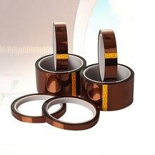 33 m 100ft Klebeband Gold Hohe Temperatur Wärme Resistant Polyimid Band für Elektronische Industrie BGA Tap Hohe Qualität
