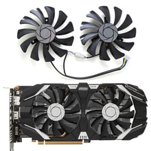 2 개/대 gtx 1060 p016 85mm vga 쿨러 팬 msi geforce GTX1060-6GT-OC inno3d gtx 1060 6 gb 비디오 그래픽 카드 냉각 팬