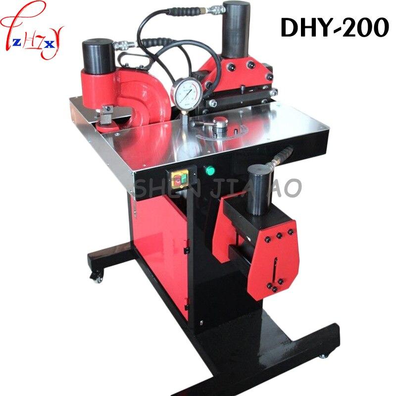 1 pc 110 máquina de processamento de Barramento DHY-200 para perfuração, dobra, corte de função