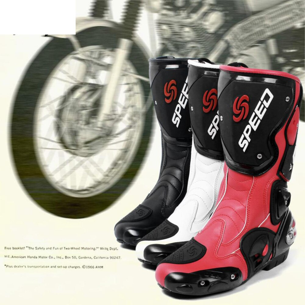 Pro Biker Brand New جودة عالية موضة أحذية للدراجات النارية موتوكروس على الطرق الوعرة سباق الأحذية دراجة نارية حامي والعتاد 3 ألوان