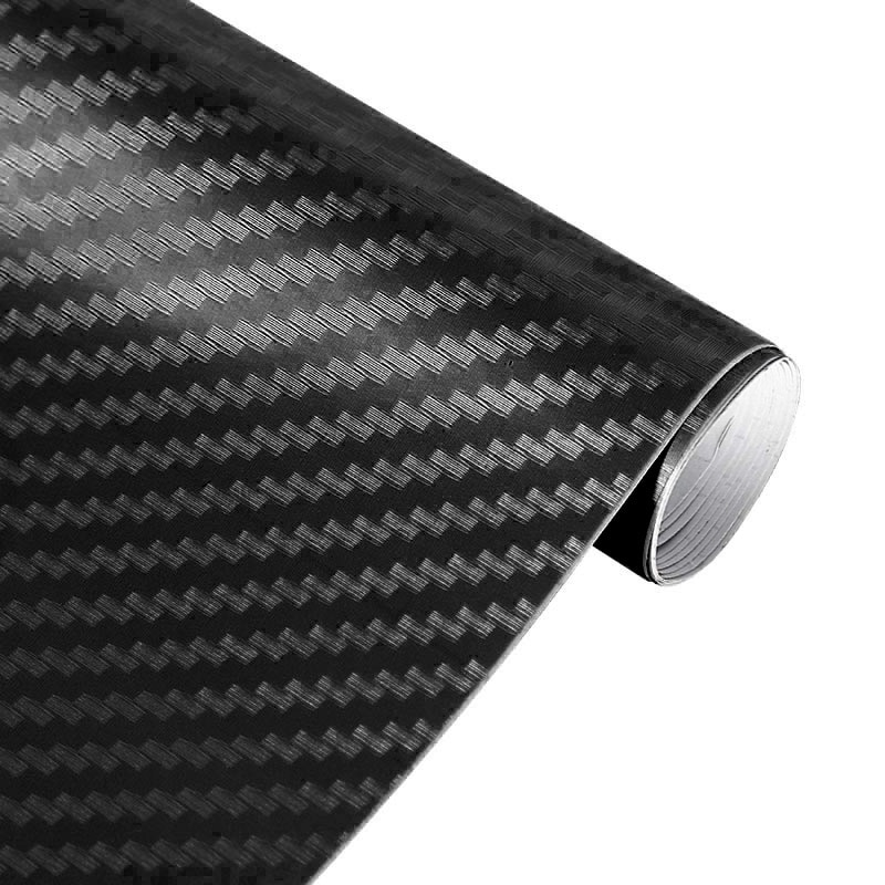 3D Carbon Fiber Vinyl Film Car Stickers Waterproof Car Styling Wrap Auto Vehicle Detailing Car Accessories Motorcycle #2