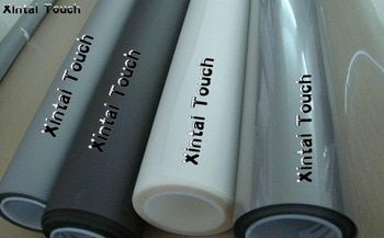 Free Shipping! 1.524m * 25m Dark grey / Transparent color rear projection film