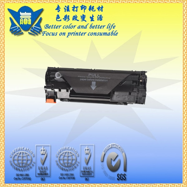 Cartucho de tóner negro Compatible con JIANYINGCHEN CRG925 CRG325 CRG725 CRG125 reemplazo para canones LBP6000 LBP6018