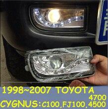 1998 ~ 2007 prado día luz YGNUS cromado LC100... FJ100 4500 4700 SUV Envío Gratis! LED prado de la luz de niebla 2 unids/set de crucero