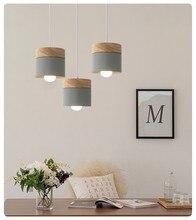 الشمال الإبداعية مطعم قلادة ضوء ؛ لون غرفة الطعام مصباح ؛ الحديثة بسيطة خشب متين غرفة المعيشة قلادة ضوء ؛ بار البلوط ضوء