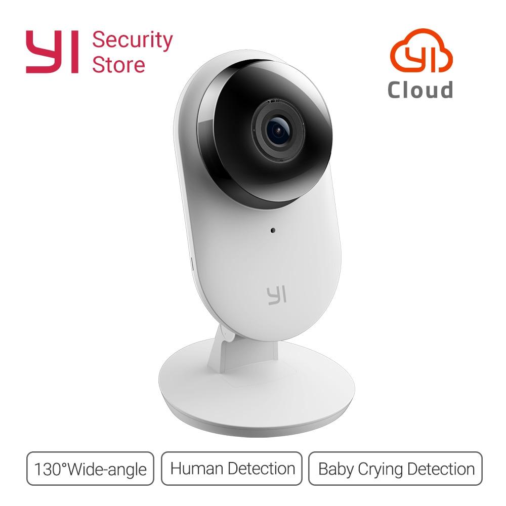 Yi Home Camera 1080P 2 FHD IP cámara de seguridad Mini Cam CCTV inalámbrico WIFI visión nocturna versión internacional búho CMOS