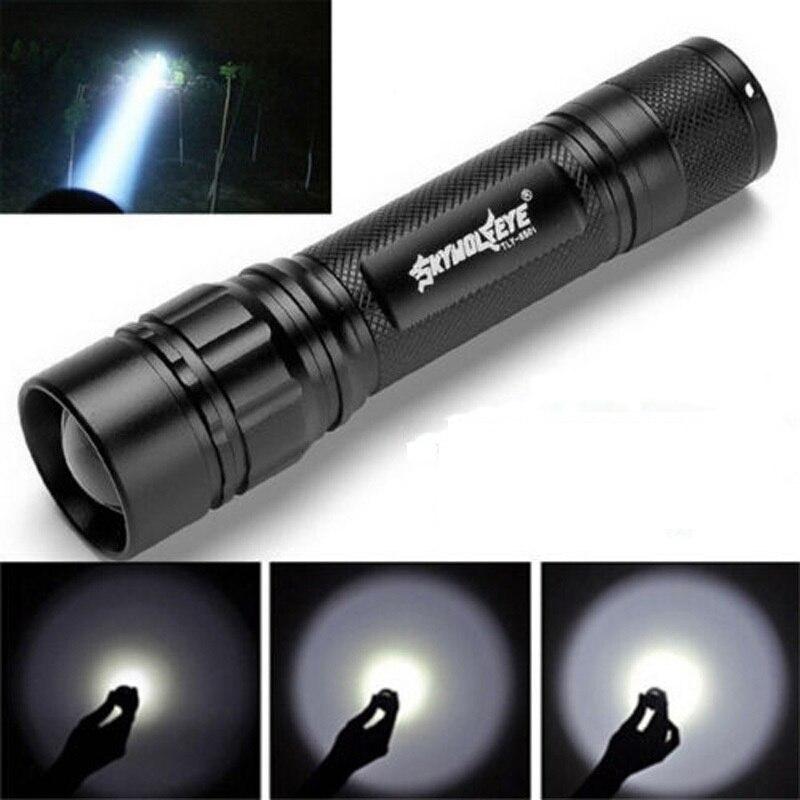 Lanterna tocha 500 lúmen 3 modos xpe q5 led à prova dwaterproof água lanterna foco lâmpada para caminhadas/noite/pesca/acampamento