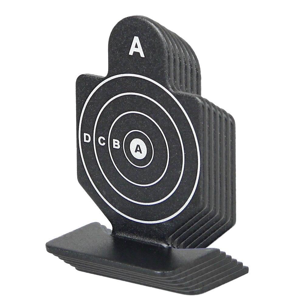 Black Color 64x44x20mm 6pcs Shooting Target  for Hunting  HS33-0180B