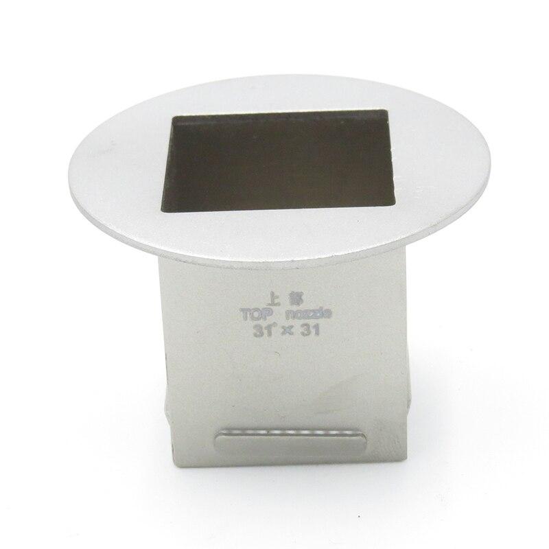31mm x 31mm Superior vento Tsui Zhuomao SCOTLE-IR360 SCOTLE-HR6000 SCOTLE-HR460 Bga Bocal de Ar Quente Para Honton SCOTLE-HR460C Estação