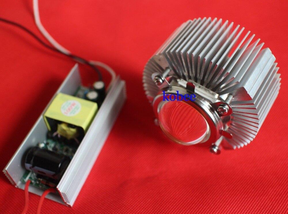 Светодиодный светильник высокой мощности 100 Вт Отражатель объектива радиатор