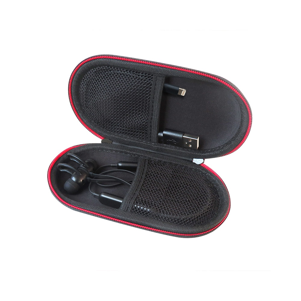 Liboer Hard Carrying Mini Case for Beats X Bluetooth Sports Headphones Storage Pouch for Phone Cables and Earphones
