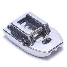 Caliente Invisible oculto Snap On Zipper Pie de cremallera para Máquina DE COSER doméstica pies accesorios de costura