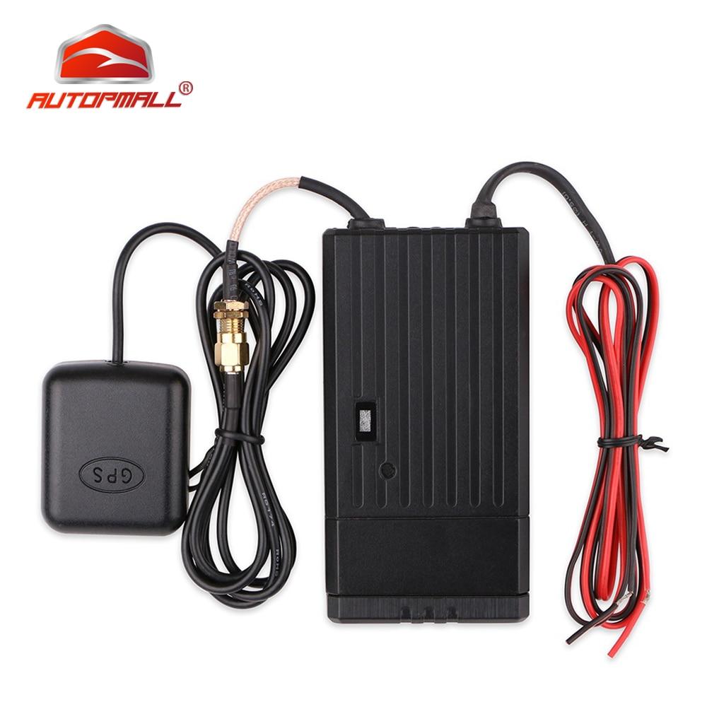 Dispositivo de seguimiento de coche 3G WCDMA GPS T8124G GPS + GSM + posicionamiento WIFI Función de registrador sin conexión vibración incorporada sensor
