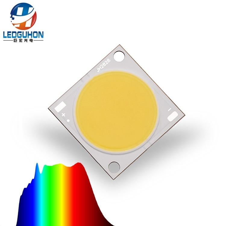 24,5mm área de luz 20w 5000K alto CRI luz solar espectro completo cob led 2828 tipo