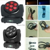 top quality 2pcslot 7x10w 4 in 1 rgbw led moving head beam light dmx wash stage lighting dj equipment for disco