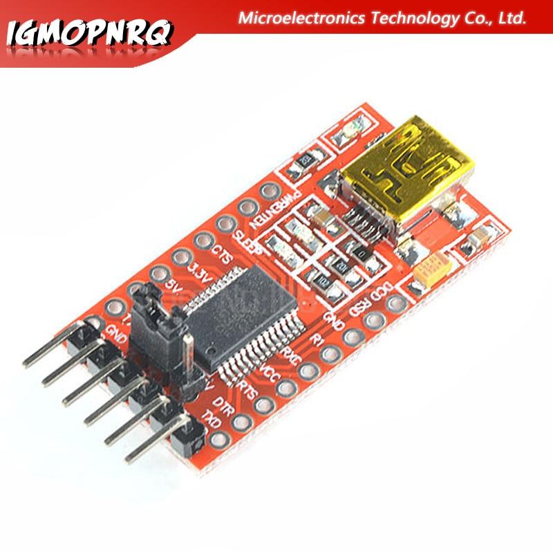 1pcs FT232RL  USB to TTL Serial Adapter Module Port 3.3V 5V new