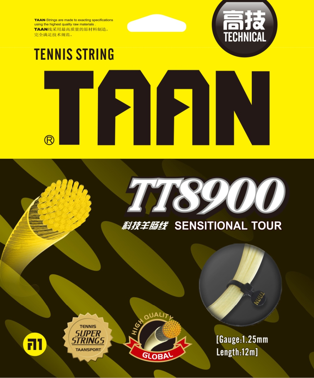 1 ud. TT8900 sensitional tour cuerda de tenis técnica